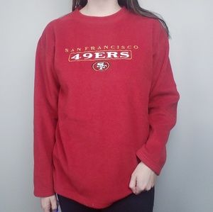 Vintage San Francisco 49ers Fleece Pullover
